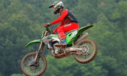 DRAMATIC SECOND MOTO FOR F&H KAWASAKI DUO IN ITALY