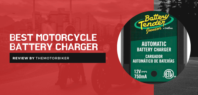 Best Motorcycle Battery Charger, Maintainer & Jump Starter