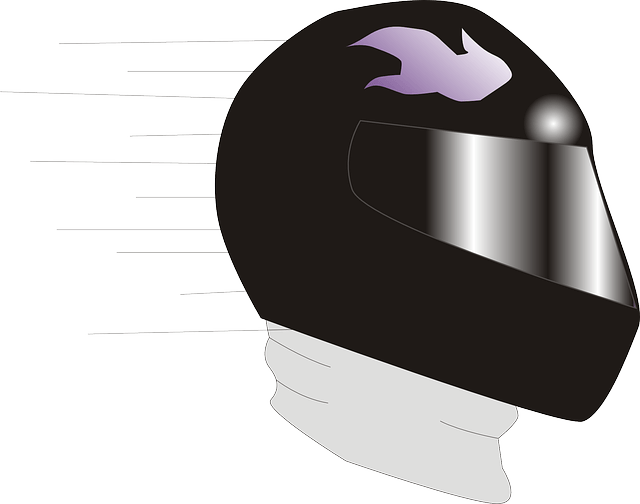 How to Draw a Motorcycle Helmet