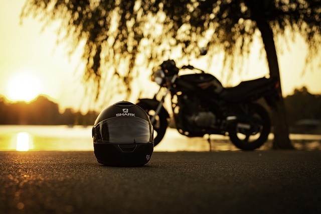 where to put motorcycle helmet