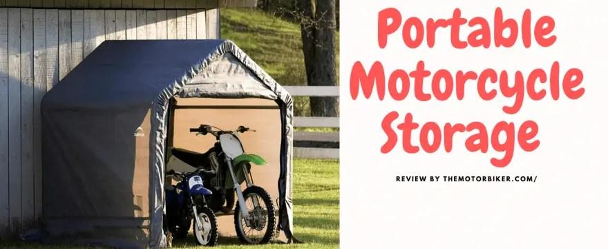portable motorcycle storage