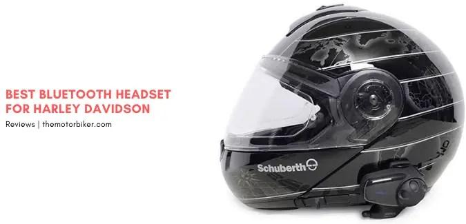 Bluetooth Headset for Harley Davidson