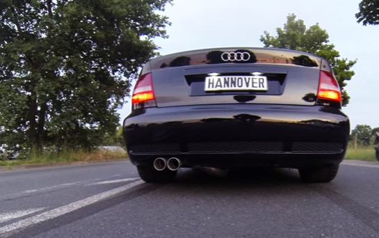 Audi RS4 with Launch Control – I want one!