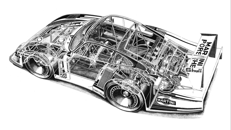 The Porsche 935 78 Moby Dick Lived Up To Its Literary Symbolism