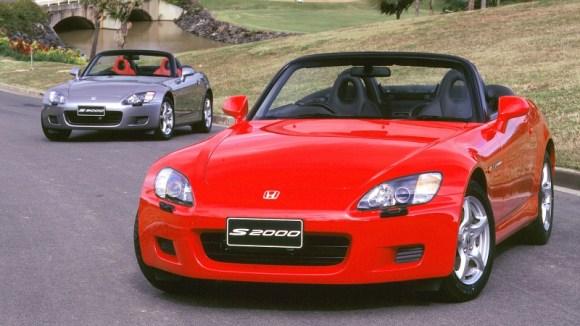 Honda S2000 sports car legend