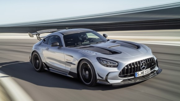 Mercedes-AMG GT Black Series front