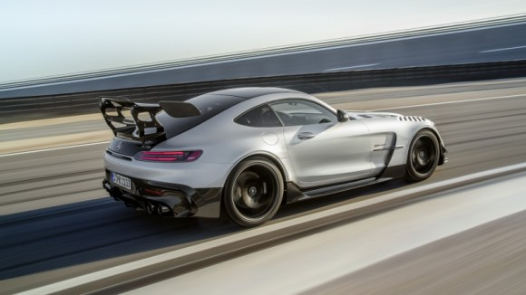 Mercedes-AMG GT Black Series performance