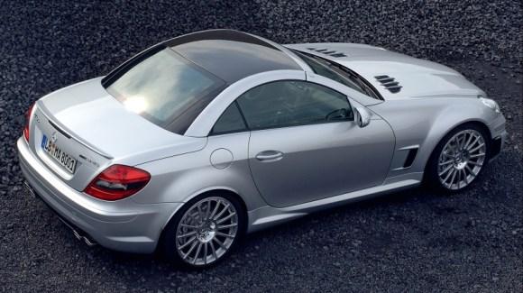 Mercedes-Benz SLK55 AMG Black Series