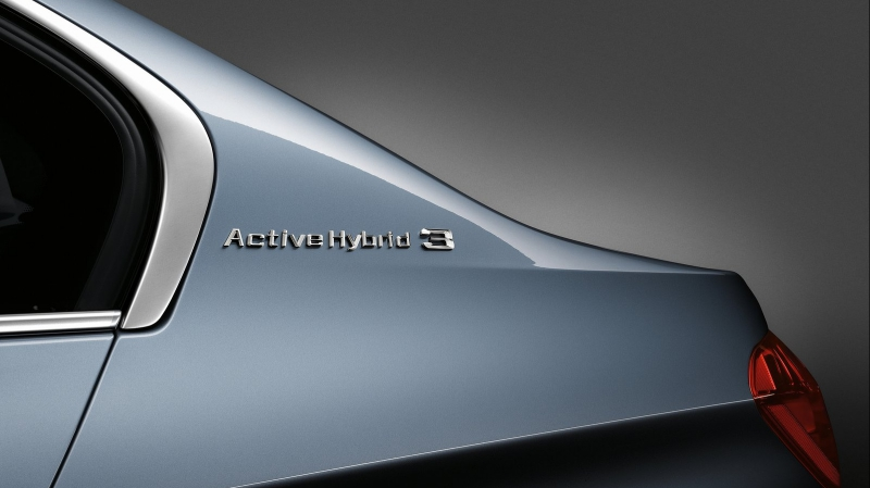 BMW ActiveHybrid 3 badge
