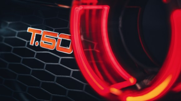 Gordon Murray Automotive T.50 badge taillights