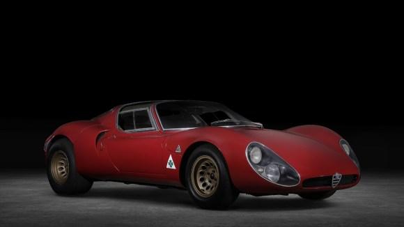 Alfa Romeo Tipo 33 Stradale prototype heritage museum