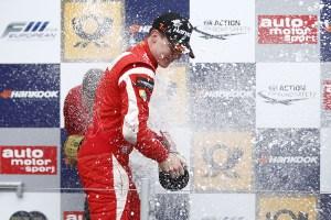 Another win for Marciello. © FIA.