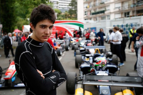 An assured Esteban Ocon took pole at Pau. © FIA.