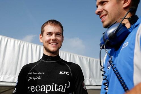 Blomqvist is now 2nd in points. © FIA F3 Media.