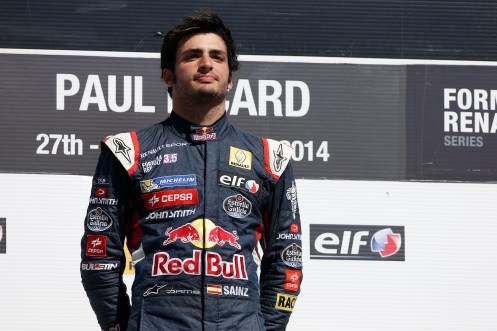 Sainz Jr reigned supreme in FR3.5 this year. © François Flamand / DPPI / Renault Sport Media.