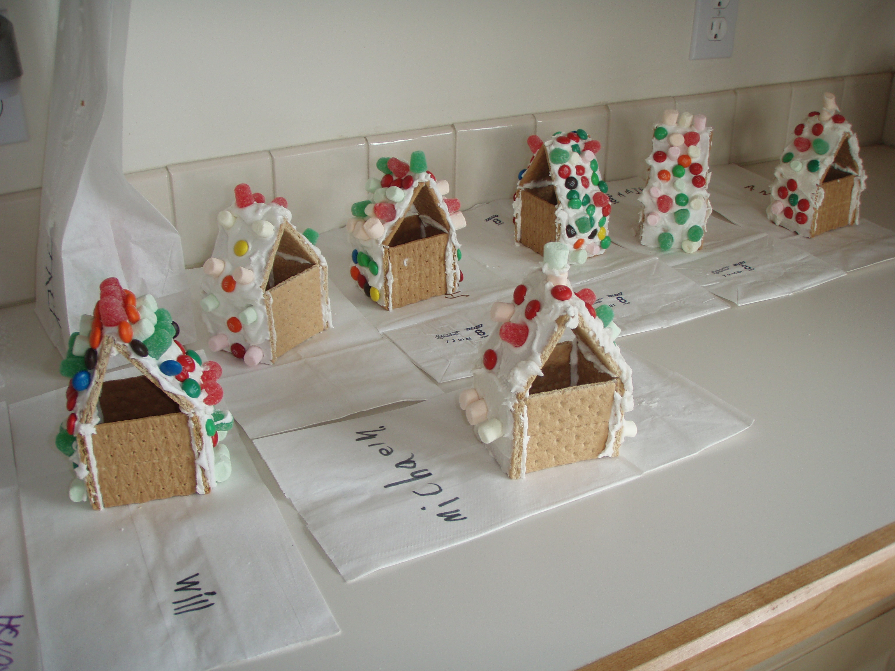 Gingerbread Houses The Motor Story