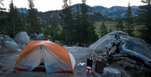 Sunrise Backpackers Camp - overlooking Long Meadow
