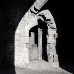 Raglan Castle Gate