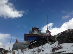 Approaching the gate of the Hatu Temple; photo: sanjay mukherjee