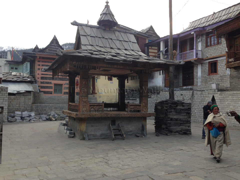 Courtyard of the Temple Complex.