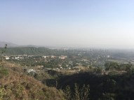 "Dehradun as seen from ""Paaniwalah Modh"" on the highway to Mussoorie (15th May 2016)"