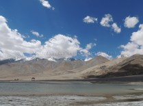 Blowing out cloud formations at Pangong Tso; Photo: Abhishek Kaushal