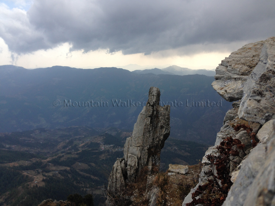 The High-Mountain trail (and the weather changes yet again)