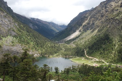 Shonga-Tser Lake (also popularly known as Madhuri Lake) near Tawang town, Arunachal Pradesh, India; Photo: Abhishek Kaushal