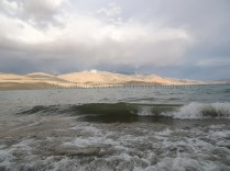 Ocean-like waves raked up by the mighty Himalayan winds ; Photo: Abhishek Kaushal