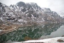 Spring shades of Tsomgo Lake; Photo: Abhishek Kaushal