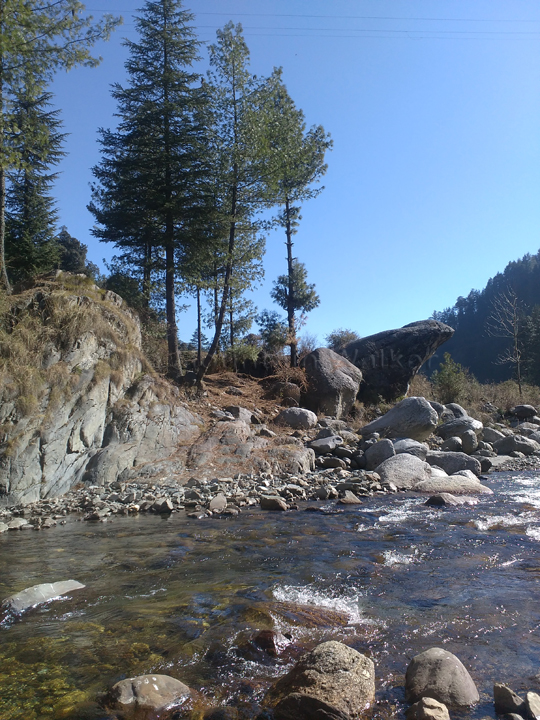 "Ideal ""sit-out"" on a regular day at Barot; Photo: Abhishek Kaushal"