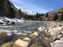 The Baspa River in its winter glory. Photo: sanjay mukherjee