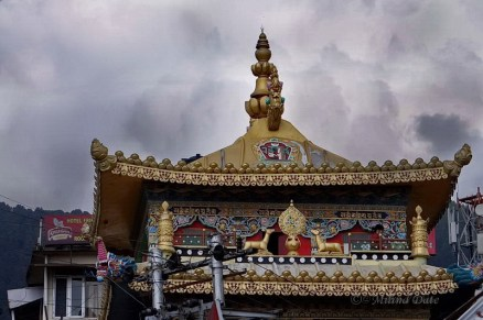 The Kala Chakra Temple is an attraction for tourists in McLeodganj. Photo: Milind Date.