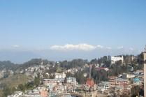 Darjeeling town and Kanchenjunga in the back ground; Photo: Abhishek Kaushal