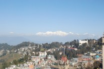 Darjeeling town and Kanchenjunga in the back ground; Photo: Abhishek Kaushal