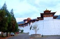 The mesmerizing views around the Punakha Dzong are a pleasure to witness; Photo: Kaushik Naik