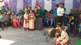 A school band of singers and musicians; Photo: Abhinav Kaushal