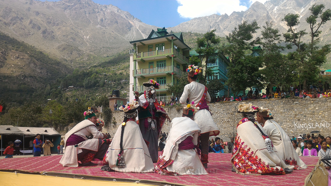 Traditional dance performance. Photo: Abhinav Kaushal.