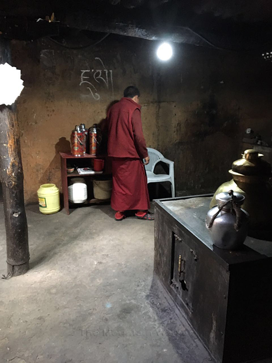 Yak Butter Tea at Key Gompa 05