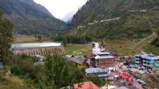 View of Bhabha Dam and new Kafnu; Photo: Ameen Shaikh