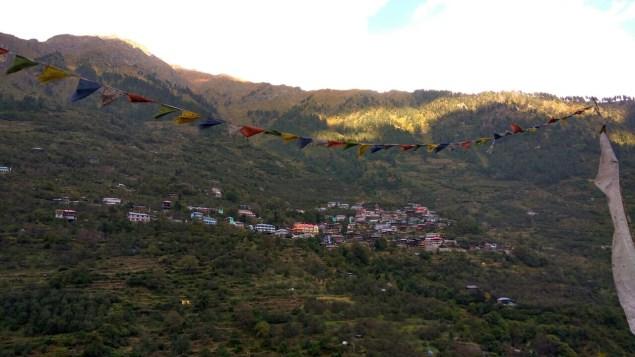 View of Yangpa village from Old Kafnu; Photo: Ameen Shaikh