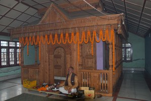 Bhadrakali temple from the inside; Photo: Abhinav Kaushal
