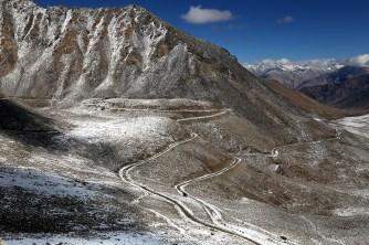Across Khardung La, looking towards Nubra Valley; Photo: Suresh Narayanan