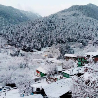 Sangla painted with a light coat of snow; Photo: Kuks Yambur