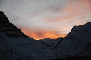Fiery mountains; Photo: Abhinav Kaushal