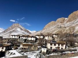 Ki village with Ki Monastery in the background; Photo: Abhinav Kaushal