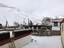 Flat roofed houses at Kaza; Photo: Abhinav Kaushal