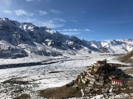 The view from higher up the mountain-side; Photo: Abhinav Kaushal