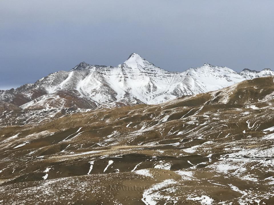 The beautiful Chachochang peak, Spiti