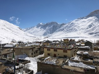 Kaza in winters; Photo: Abhinav Kaushal